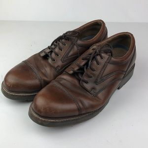 Dockers Brown Leather 90-6127 Oxford Dress Shoes
